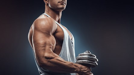 build-muscle-dumbbell