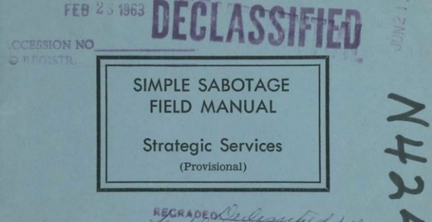 The Simple Sabotage Field Manual for The Diet & Fitness Guru